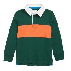 Mini Boden Rugby Polo Shirt